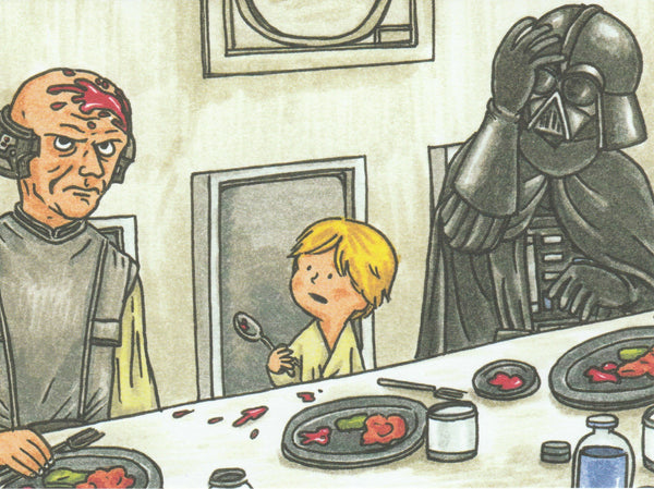 Star Wars Postcard (DV17)