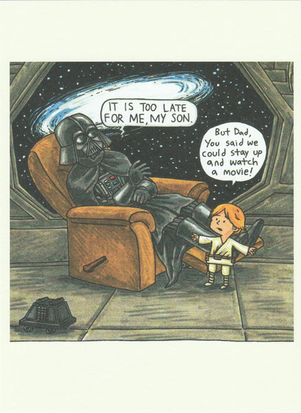 Star Wars Postcard (DV45)