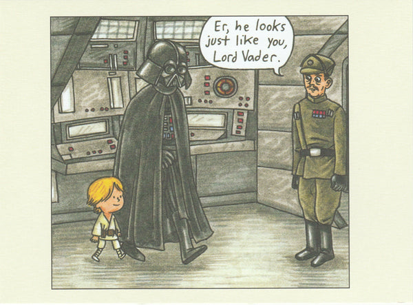 Star Wars Postcard (DV22)