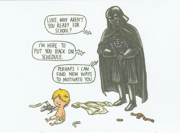 Star Wars Postcard (DV23)