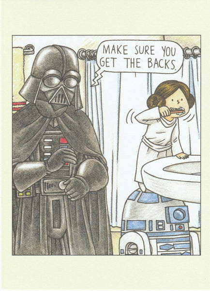 Star Wars Postcard (DV27)
