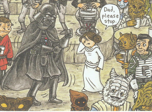 Star Wars Postcard (DV06)