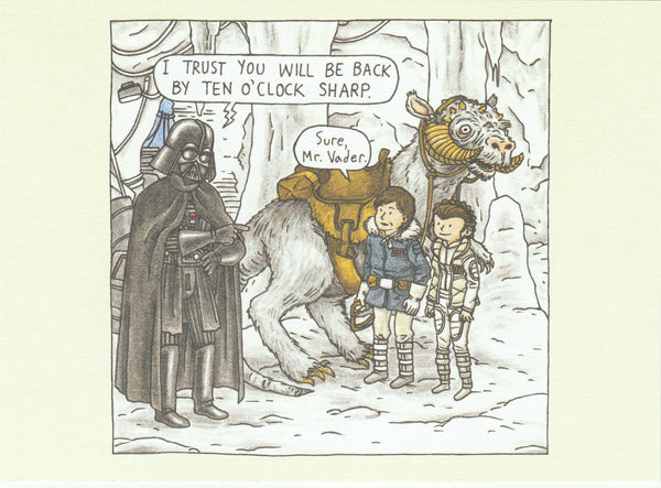 Star Wars Postcard (DV07)