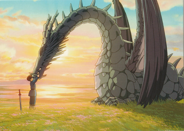 Studio Ghibli - Tales from the Earthsea Postcard (2/3)