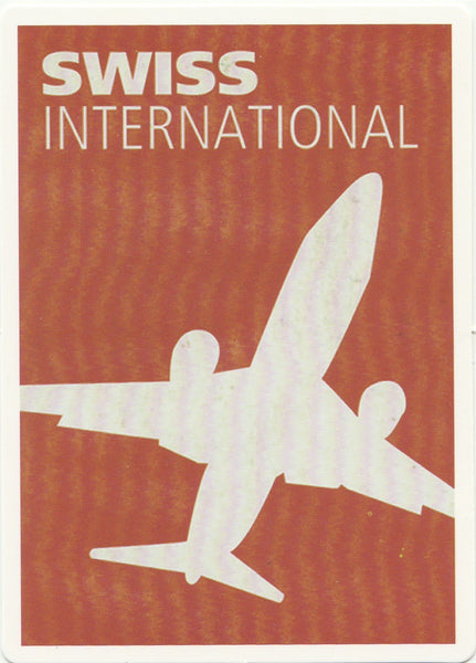 Travel Memories - T18 - Swiss International Postcard