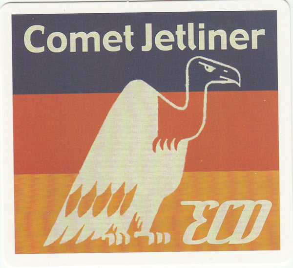 Travel Memories - T24  - Comet Jetliner Postcard