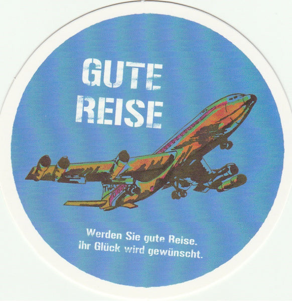 Travel Memories - T28 - Gute Reise Airplane Postcard