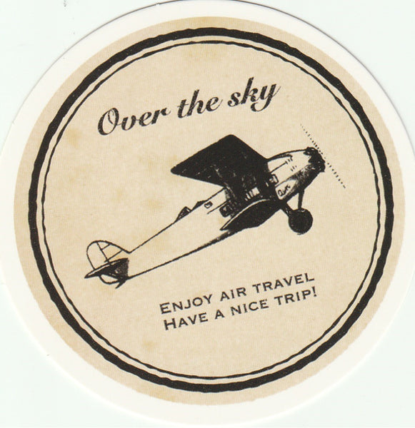 Travel Memories - T29 - Over the Sky Postcard