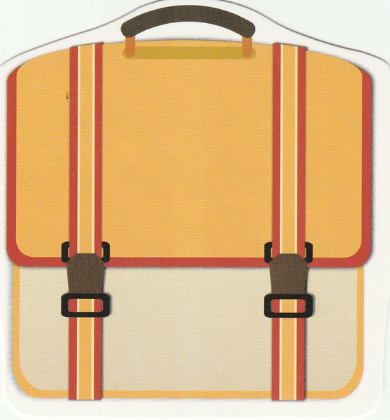 Travel Suitcase Postcard Collection CLT27