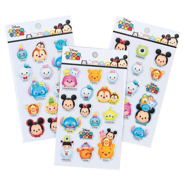 [FREE with US$20 purchase!]  Disney Tsum Tsum Shiny Sticker Sheet