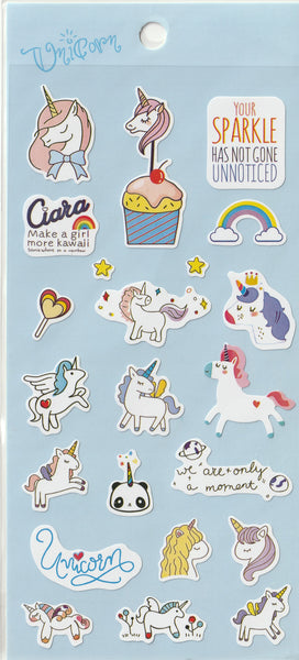 Unicorn Stickers Set A