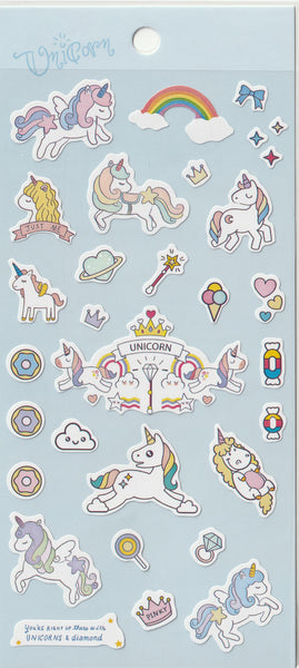 Unicorn Stickers Set B