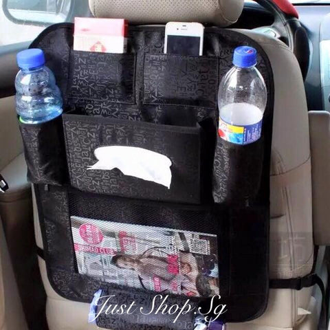 Car Rear Seat Organiser - Just Shop.Sg