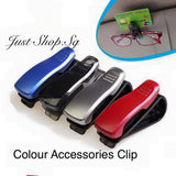 Colour Car Sunglasses and Accessories Clip - Just Shop.Sg