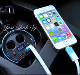 SAST Digital Car Voltage USB Charger & Splitter - Just Shop.Sg