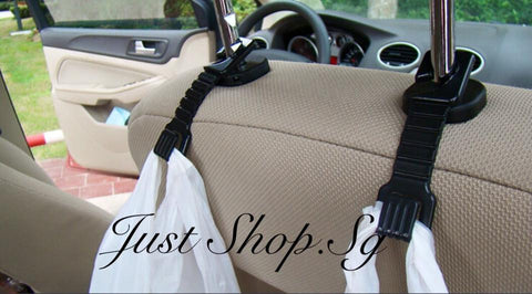 Car Seat Flat Hook/ Hanger - Just Shop.Sg
