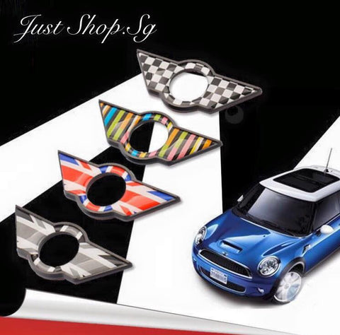 Mini Cooper Car Door emblem - Just Shop.Sg