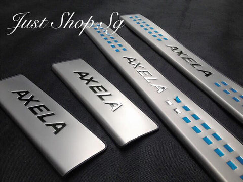 New Mazda 3 Scuff/ Sill Plate - Just Shop.Sg