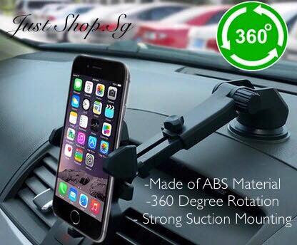 Adjustable Arm Car Phone Holder - Just Shop.Sg