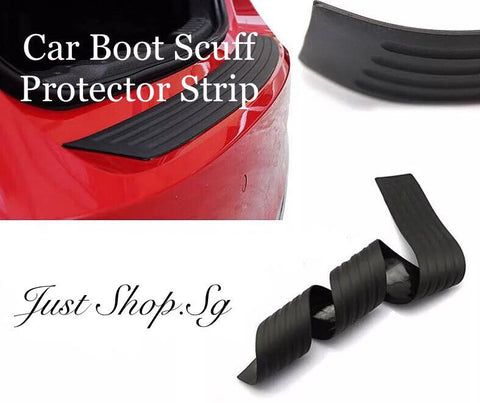 Car Boot Scuff Protector Strip - Just Shop.Sg