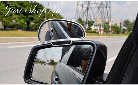 Wide Angle Car Blind Spot Mirror - Just Shop.Sg