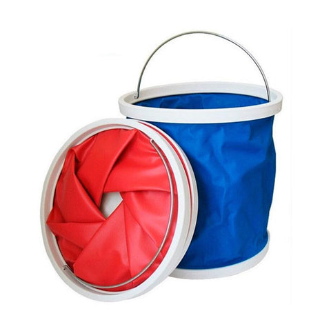Foldable Car Bucket - Just Shop.Sg
