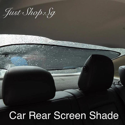 Car Rear Screen Shade - Just Shop.Sg