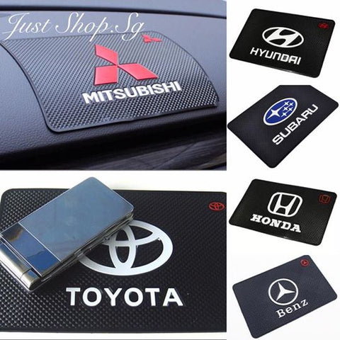 Car Logo Anti Slip Mat - Just Shop.Sg