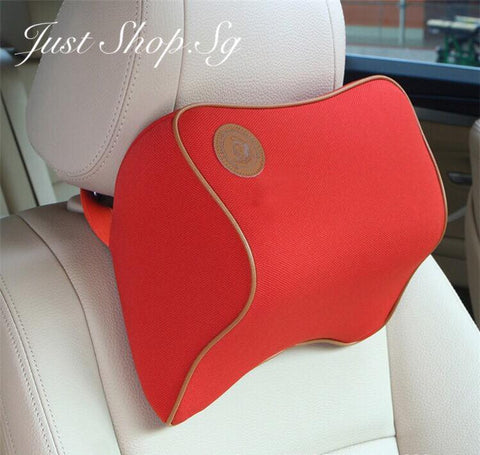 Chiropractic Car Headrest (RED) - Just Shop.Sg