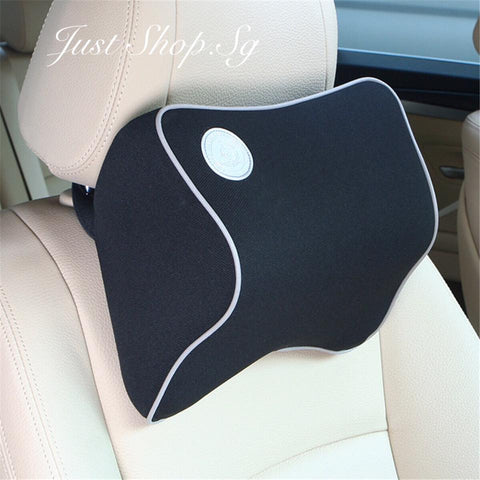 Chiropractic Car Headrest (Black) - Just Shop.Sg
