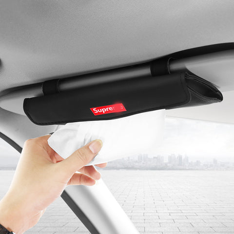 Supreme Car Visor Tissue Leather Cover