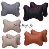 Full Leather Cover Headrest - Just Shop.Sg