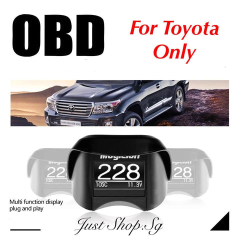 Magician OBD II Gauge For Toyota (TY13) - Just Shop.Sg