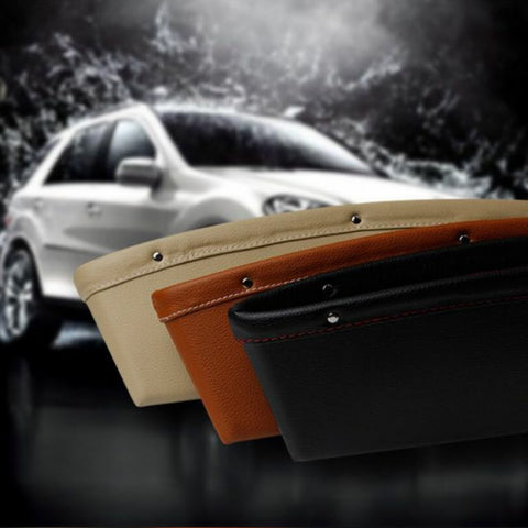 Car Leather Seat Side Pocket