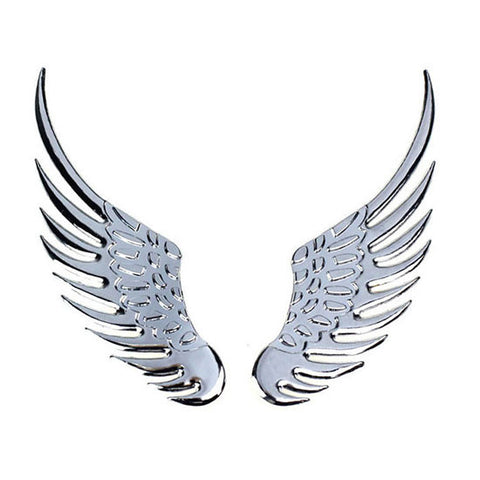 ANGEL WING CAR EMBLEM - Just Shop.Sg