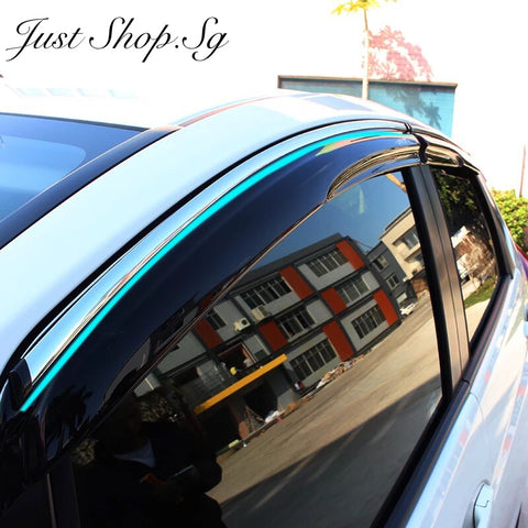 New Honda JAZZ /  Fit GK Door Visor - Just Shop.Sg