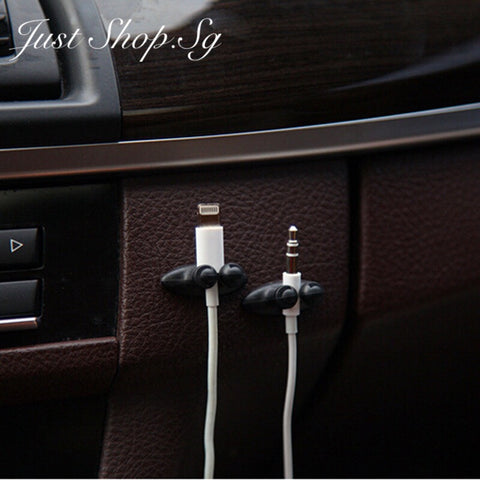 Car Phone Cable Holder - Just Shop.Sg
