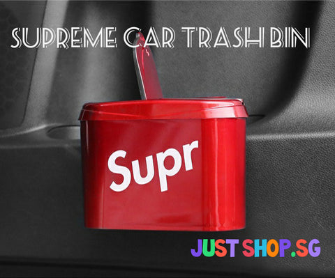 Supreme Car Trash Bin