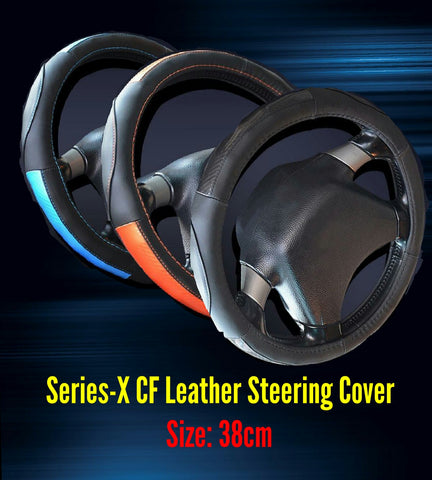 Series X CF Leather Steering Cover
