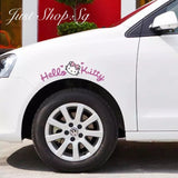 Hello Kitty Car Decal / Sticker - Just Shop.Sg