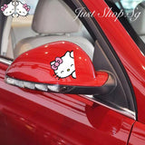 Hello Kitty Side Mirror Decal / Sticker - Just Shop.Sg
