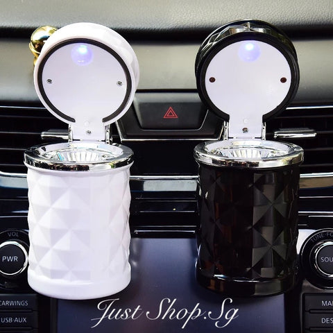 Car LED Ash Tray Holder - Just Shop.Sg