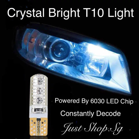Crystal Bright T10 LED Silicone Light - Just Shop.Sg