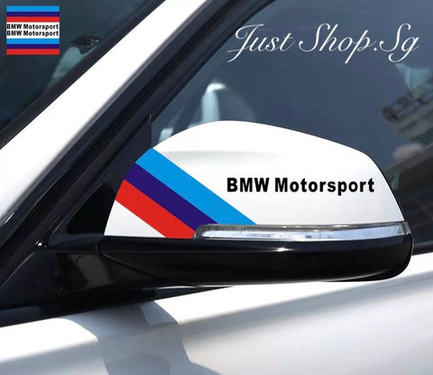 BMW Motorsport Side Mirror Sticker - Just Shop.Sg