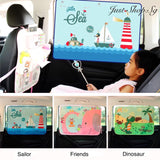 Korean Kids Car Window Shade - Just Shop.Sg