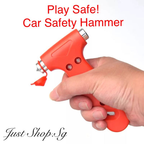 Car Safety Hammer - Just Shop.Sg