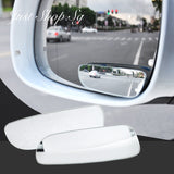 Frameless Long Wide Car Blind Spot Mirror - Just Shop.Sg