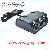 3 Way Splitter With 120W Power - Just Shop.Sg