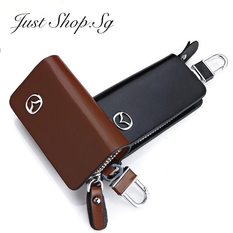 Leather Key Pouch - Just Shop.Sg