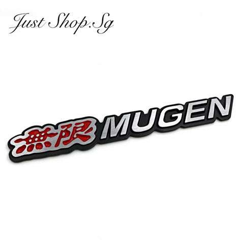 3D Honda Mugen Emblem - Just Shop.Sg